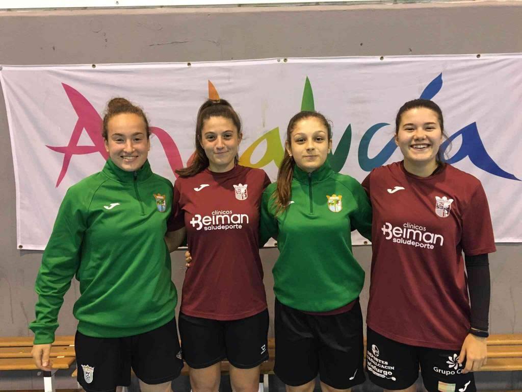 Convocadas cuatro jugadoras del Guadalcacín FSF con la selección andaluza sub-19