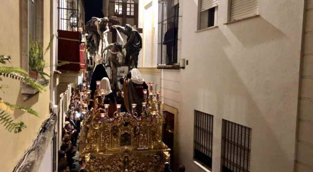 TV: El Sagrado Descendimiento en Tornería