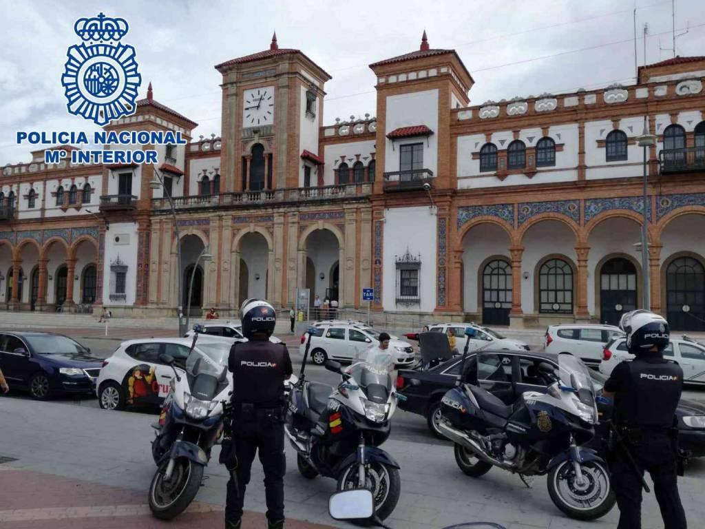 A prisión un hombre por una amenaza de bomba en la Estación de Trenes de Jerez