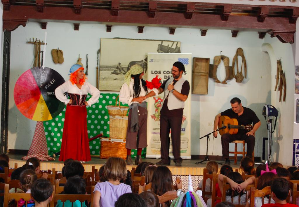 Nuevas paradas para acercar el flamenco a los escolares gaditanos
