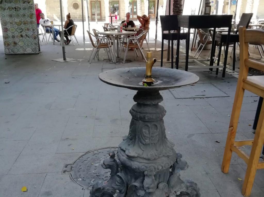 Adelante Jerez quiere colocar más de 100 fuentes de agua potable en las calles