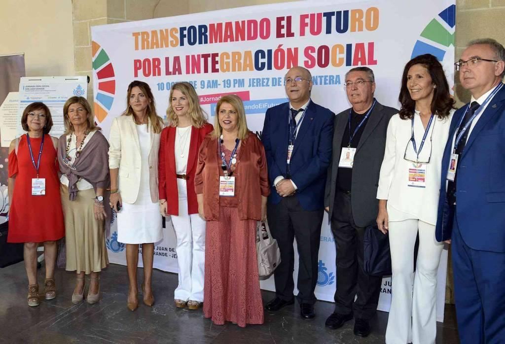 Éxito de la I Jornada Nacional de Obra Social 'Transformando el futuro por la integración social'