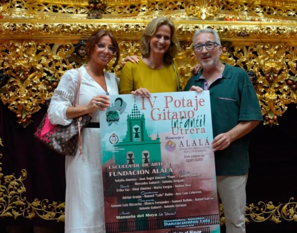 La Fundación Alalá recibe el homenaje del IV Potaje Gitano Infantil