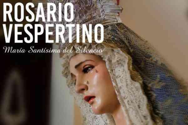 La Virgen del Silencio saldrá en Rosario Vespertino el sábado próximo