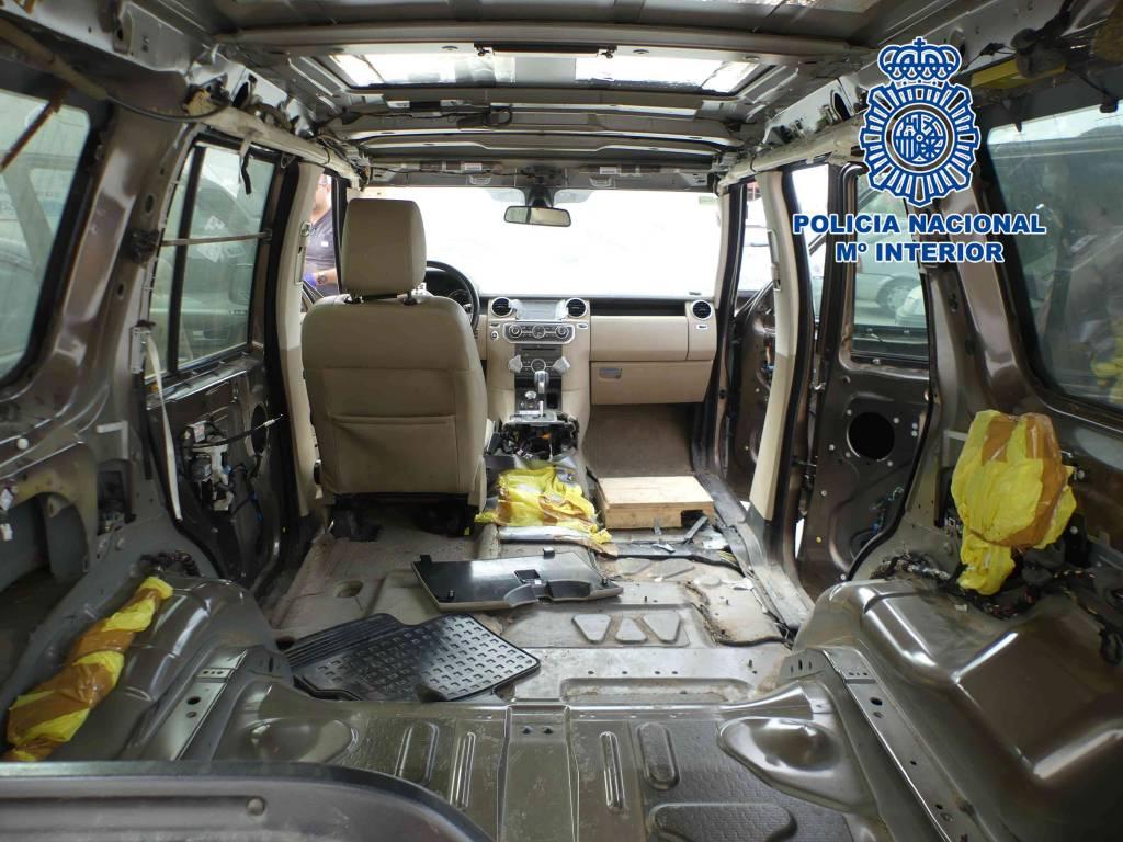 Dos detenidos en Jerez por robar todoterrenos para transportar droga