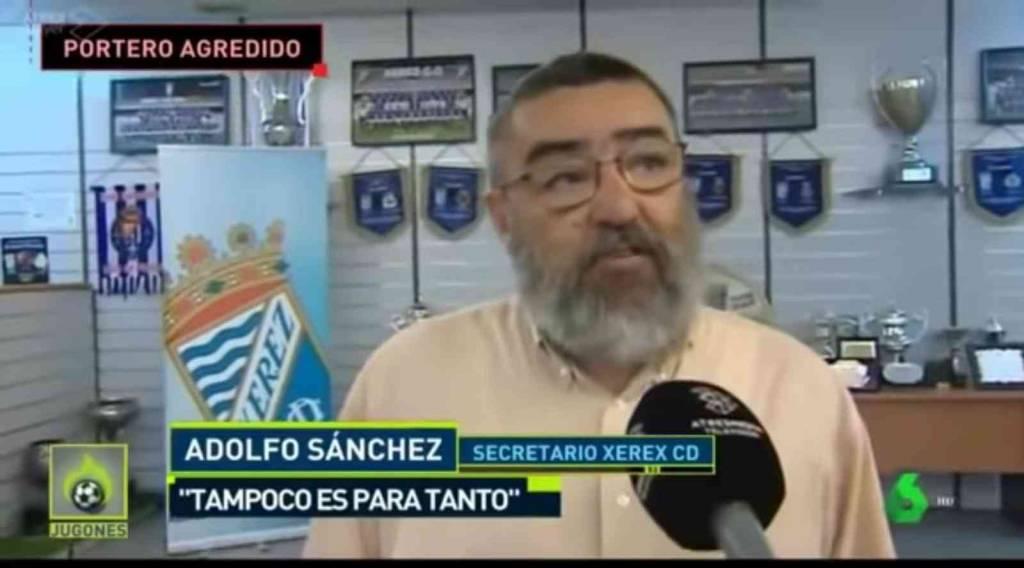 Derecho a rectificación de Adolfo Sánchez Carrasco