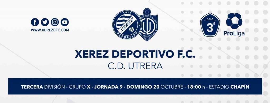 Xerez Deportivo vs CD Utrera: Resarcirse en casa se antoja como obligatorio