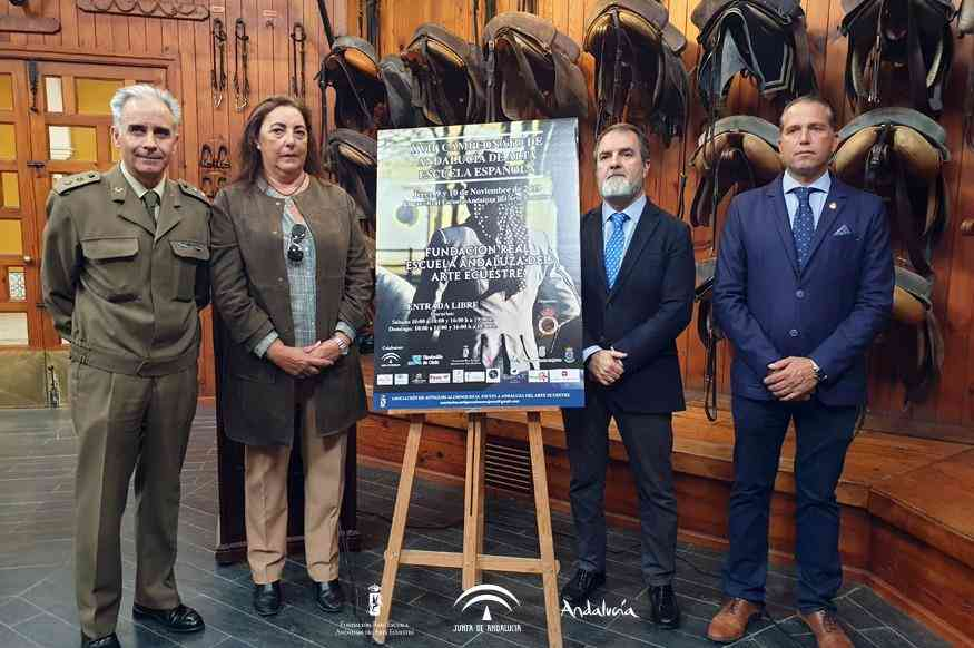 La Real Escuela acogerá el Campeonato de Andalucía de Doma de Alta Escuela