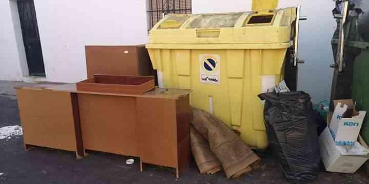El plan de choque de limpieza no llega al Jerez rural