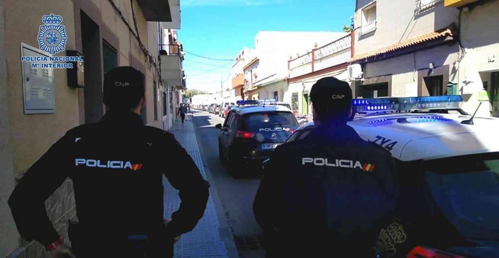 Desarticulada una banda de 13 narcos armados en Jerez