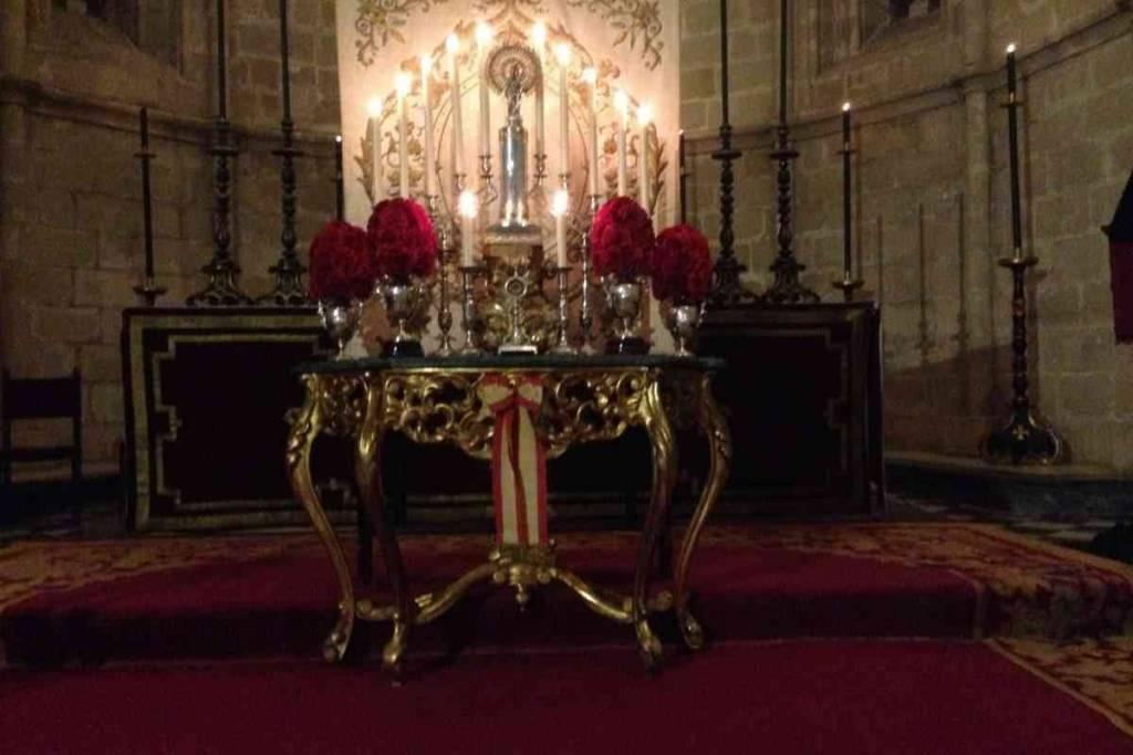Oración en San Juan, a la Virgen del Pilar
