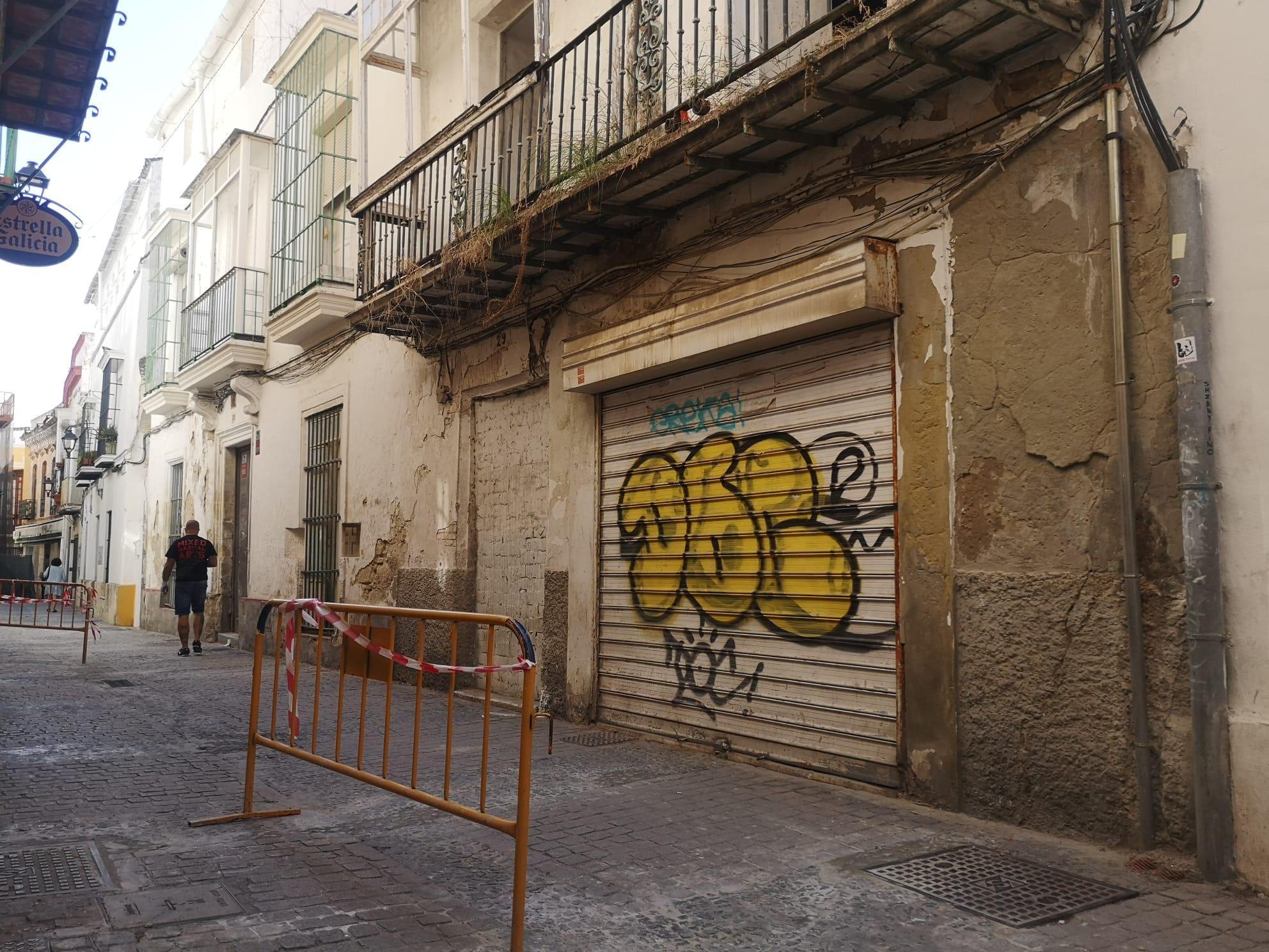 El Ayuntamiento de Jerez expropia un edificio histórico de la calle Francos