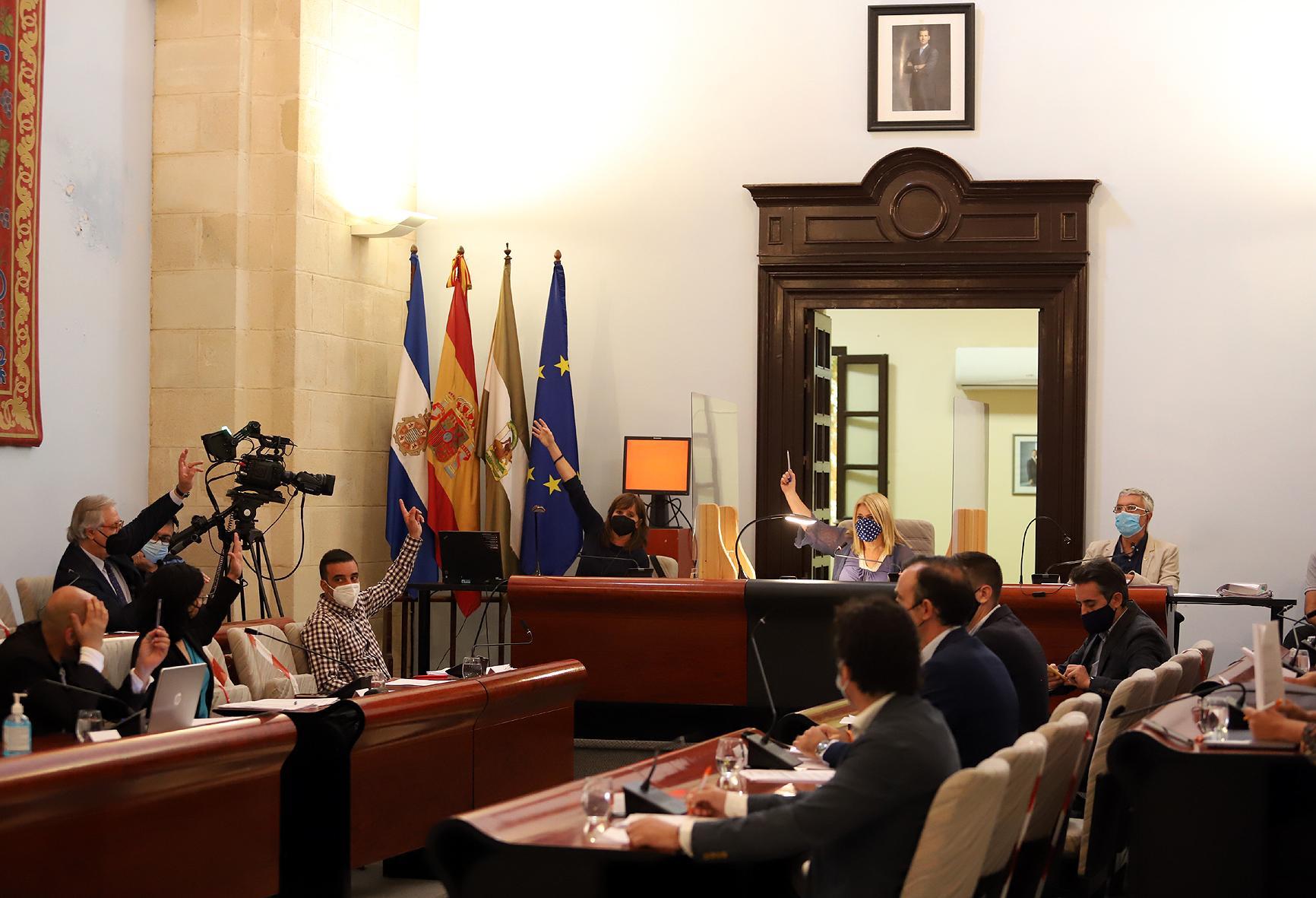 """El PP asegura que llegará """"hasta el final para defender los derechos fundamentales de los representantes de los jerezanos"""""""