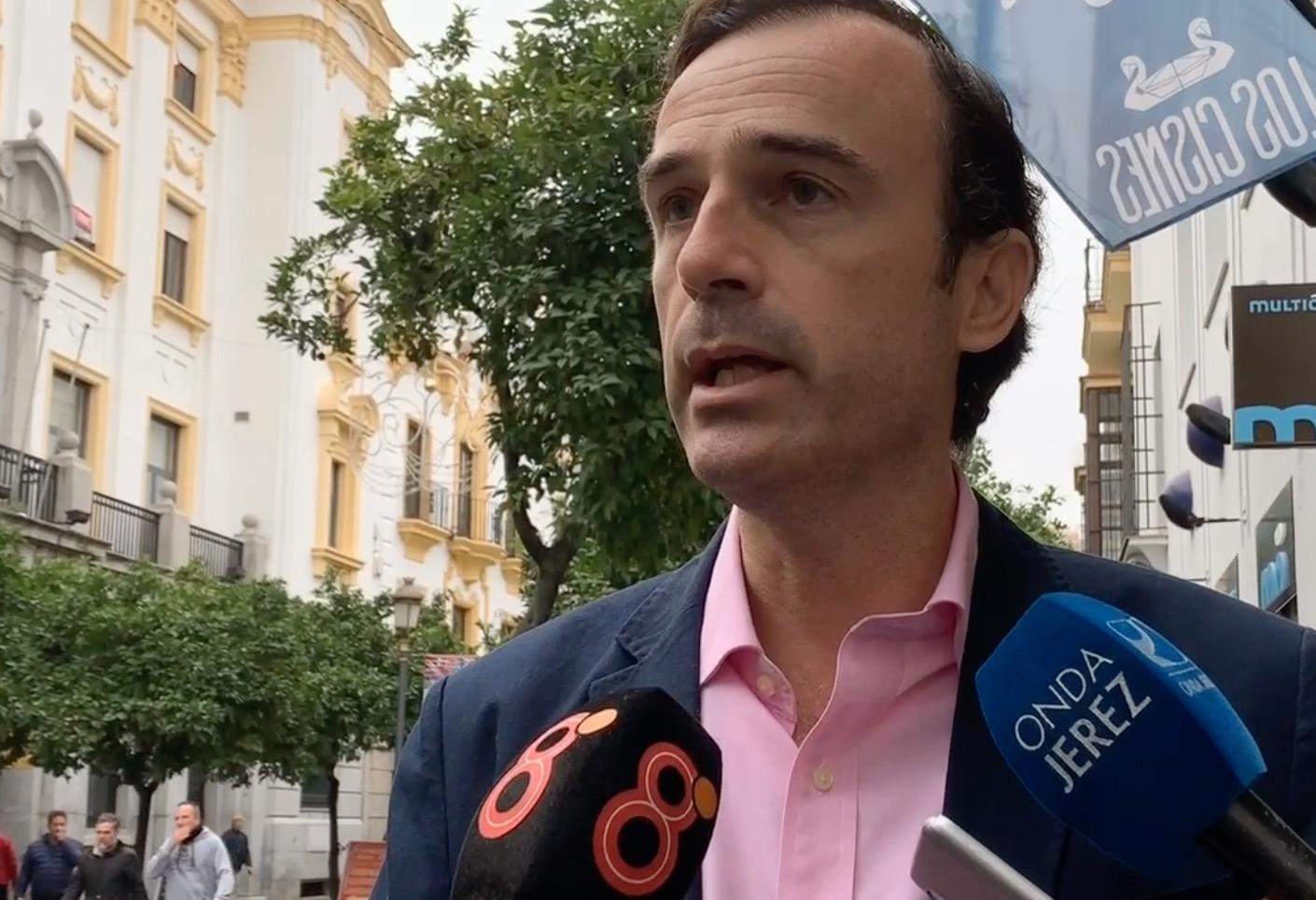 """Méndez (Cs): """"La nueva Ley de Tributos de Andalucía aliviará la carga fiscal que soportan los maltrechos bolsillos de los jerezanos"""""""