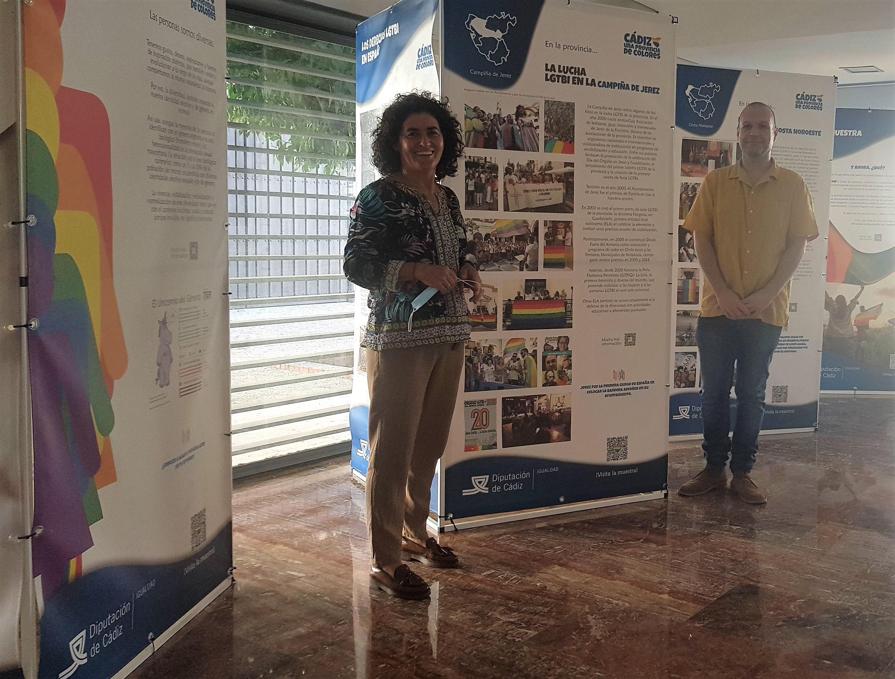 Llega a Guadalcacín la muestra 'Cádiz, una provincia de colores'