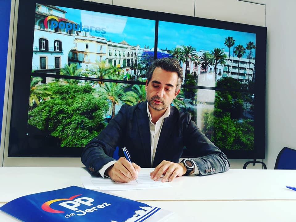 """Saldaña: """"Jerez necesita con urgencia un gobierno del PP en el Ayuntamiento y en España"""""""
