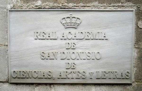 Guillermo Jiménez Sánchez inaugura el curso académico en la Real Academia de San Dionisio