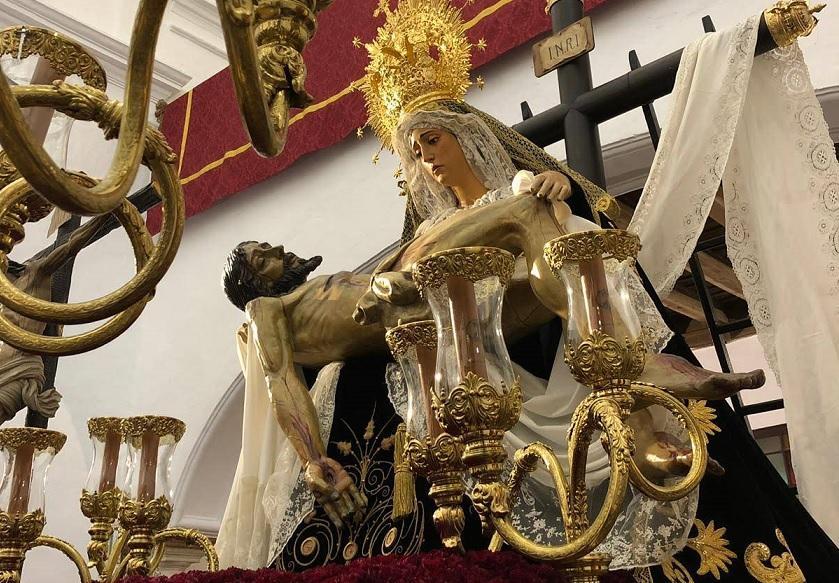 Vía Crucis, pregonero y cartelista, en Villamartín