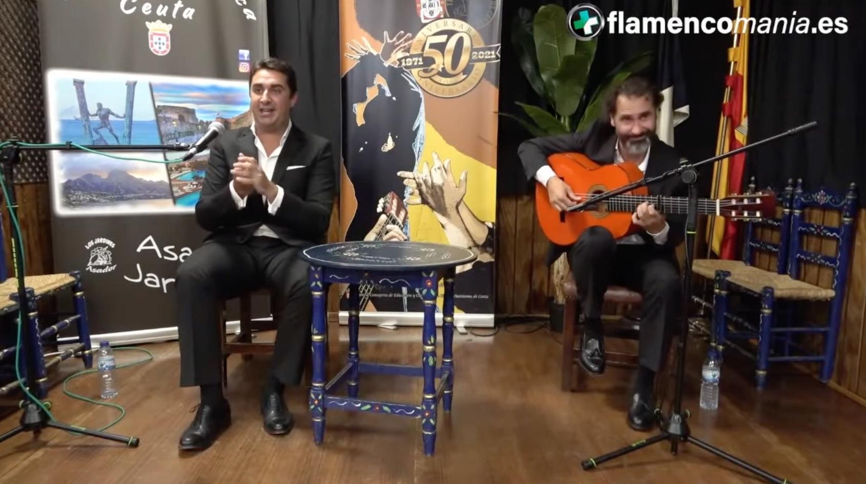 Flamencomanía TV: ''Manuel de la Fragua y José Carlos Pozo en la Tertulia Flamenca de Ceuta''