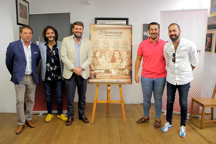 Grandes nombres de lo jondo para el 'Otoño es Flamenco' de la 'Buena Gente'