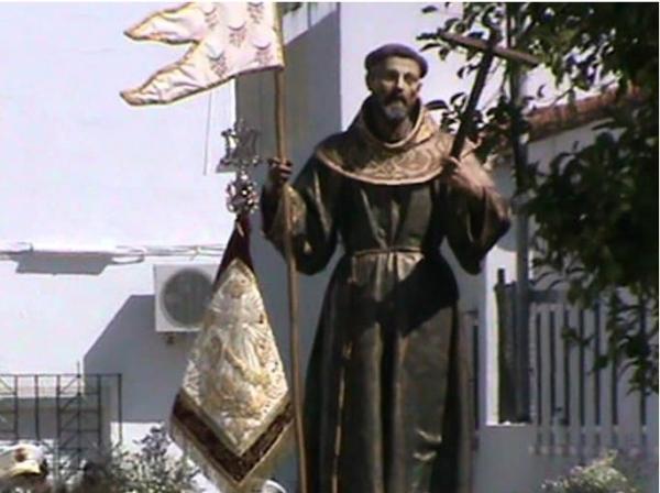 El domingo próximo, procesión de San Francisco en Guadalcacín