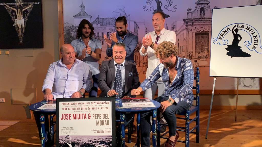 José Carpio 'Mijita' presentará 'Albariza' el 18 de octubre en la Peña Flamenca 'La Bulería'