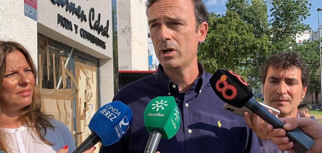 Manuel Méndez (Cs): ''Jerez tienen un problema de seguridad y los últimos incidentes lo demuestran''