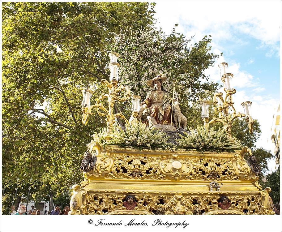 Este domingo, procesión de la Divina Pastora de Capuchinos