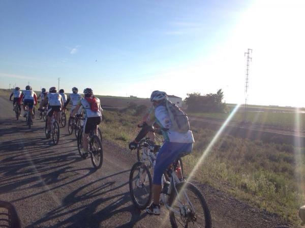 Este fin de semana, la 'Peregrinación al Rocío en bici 2019'
