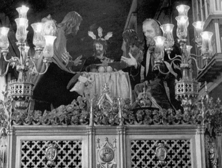 Lo que el ojo sí vio: Aquel paso gótico de la Sagrada Cena