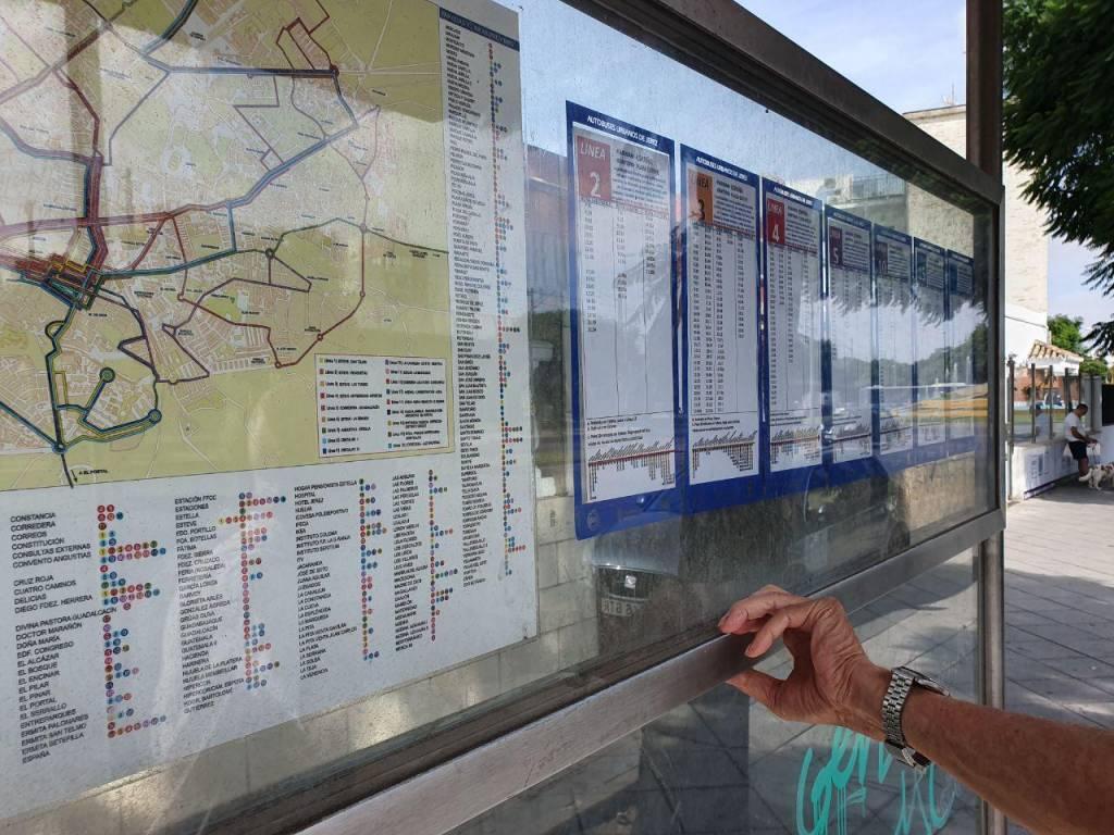 Adelante Jerez ve ''imposible'' entender los horarios de los autobuses urbanos