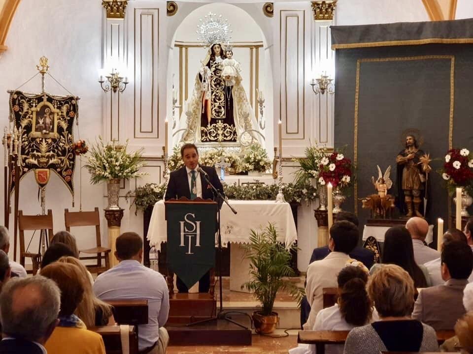 José Carlos Navas proclamó en Setenil, el Pregón de Aniversario de San Isidro Labrador