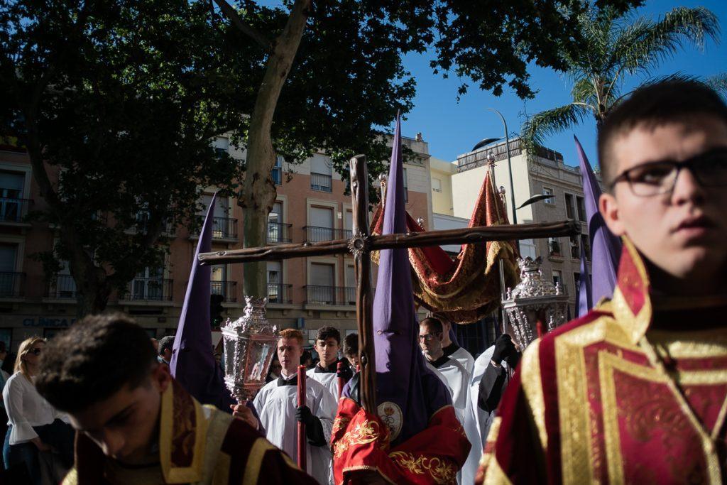 Sábado de Exaltación a la Santa Cruz, en Capuchinos