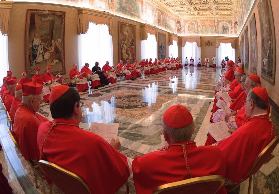 Consistorio: El Santo Padre creará 13 cardenales el 5 de octubre