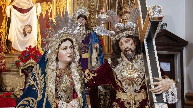 Este domingo día 15, procesión extraordinaria en Cádiz de la cofradía de Afligidos
