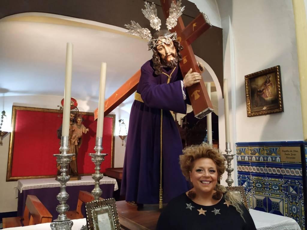 Inmaculada Cáliz, pregonera de Jesús Nazareno