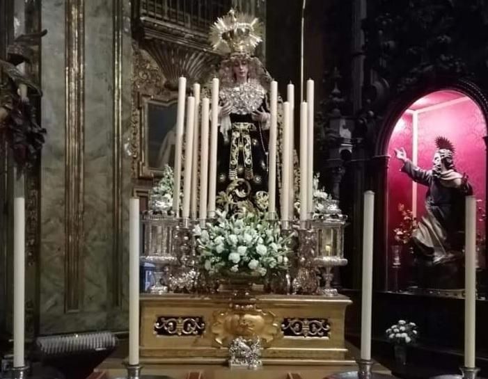 Este sábado, traslado de la Virgen del Buen Fin a San Dionisio