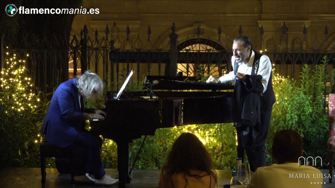 Flamencomanía TV: ''Pedro El Granaíno y José Miguel Évora en el Casa Palacio María Luisa de Jerez''