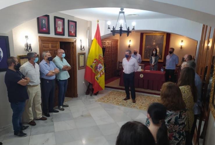 Fernando Barrera Romero repite como hermano mayor en la Defensión