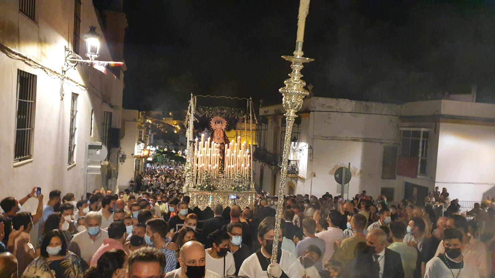 Así os contamos la procesión de la Soledad, en Arcos de la Frontera