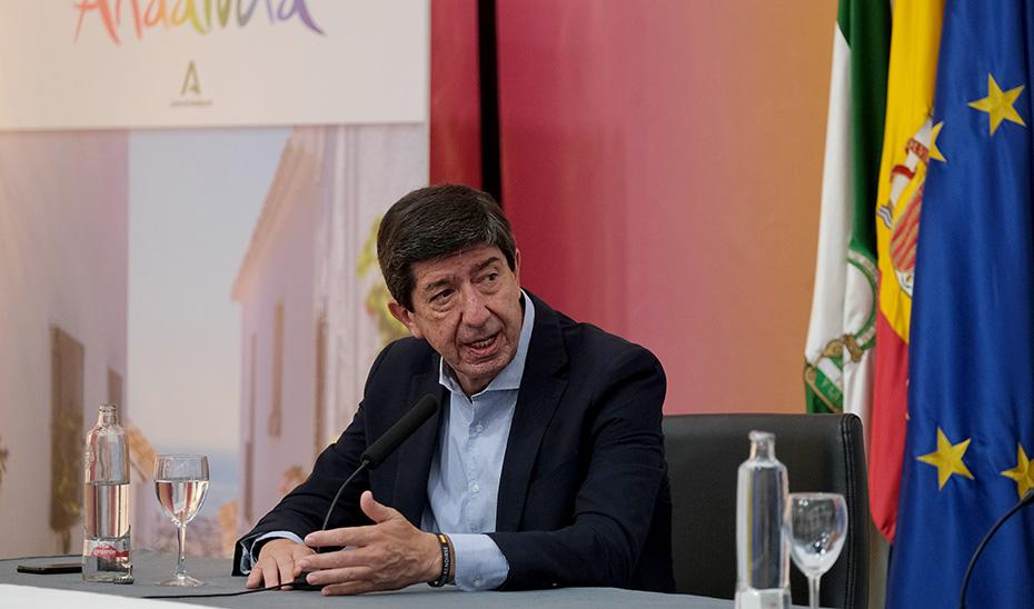 "Marín valora como ""espectacular"" el dato de pernoctaciones en Andalucía durante agosto"
