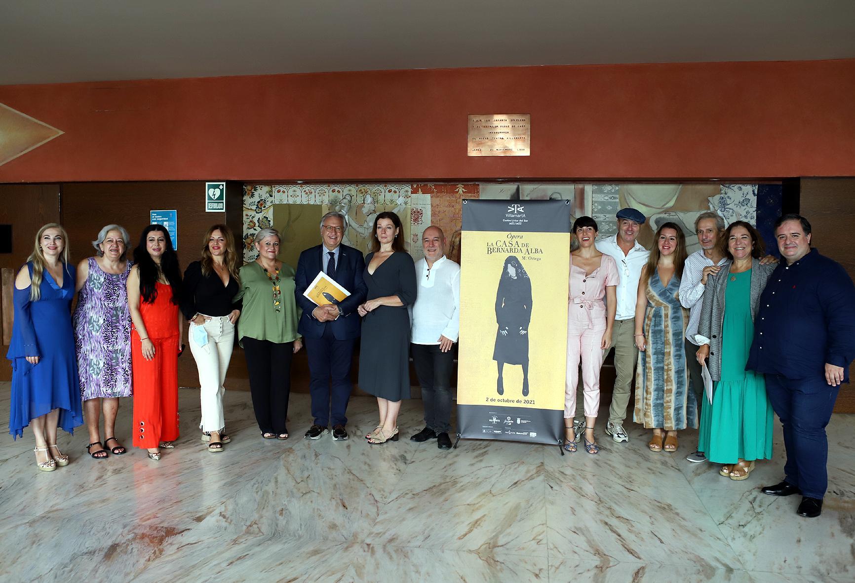 La ópera 'La casa de Bernarda Alba' abre la Temporada en el Villamarta
