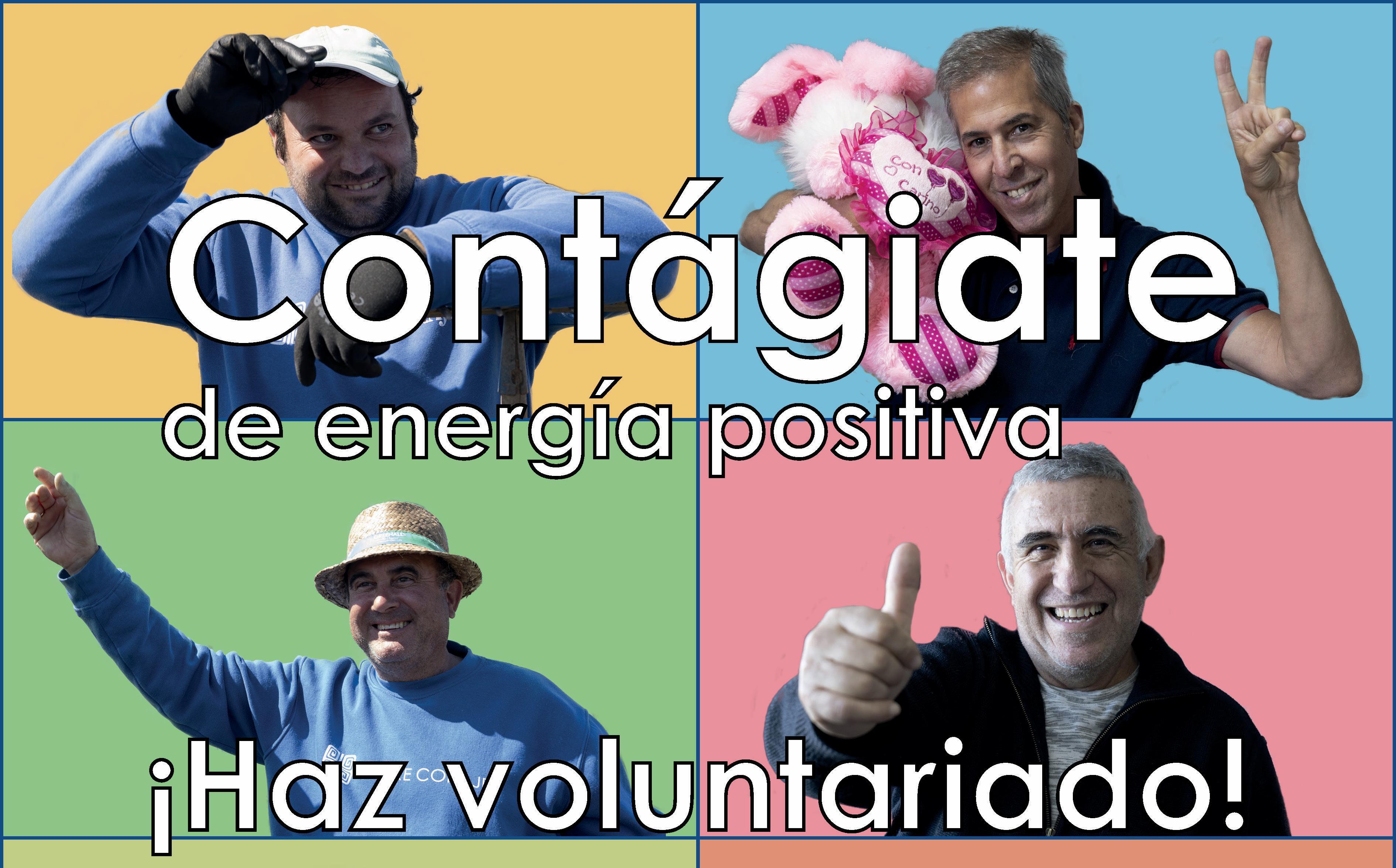 Madre Coraje relanza su campaña de voluntariado 'Contágiate de energía positiva' en busca de colaboración