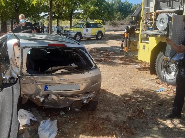 En la UCI el presidente de Solidaridad por un aparatoso accidente en San Telmo