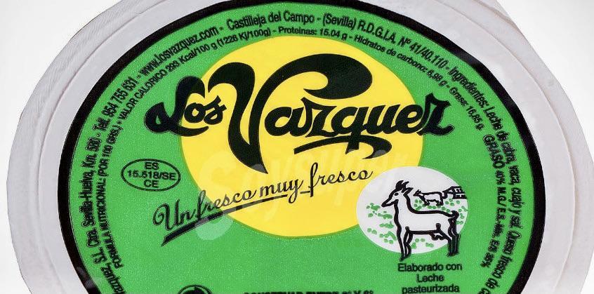 La Junta alerta de la presencia de listeria en quesos de Los Vázquez vendidos en Jerez y otras localidades andaluzas