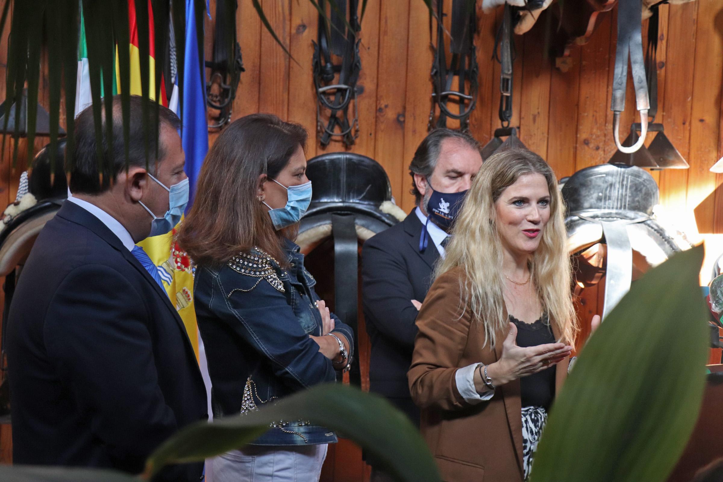 Ana Mestre refrenda en Jerez la apuesta del Gobierno andaluz para vender la provincia como una oferta de turismo integral
