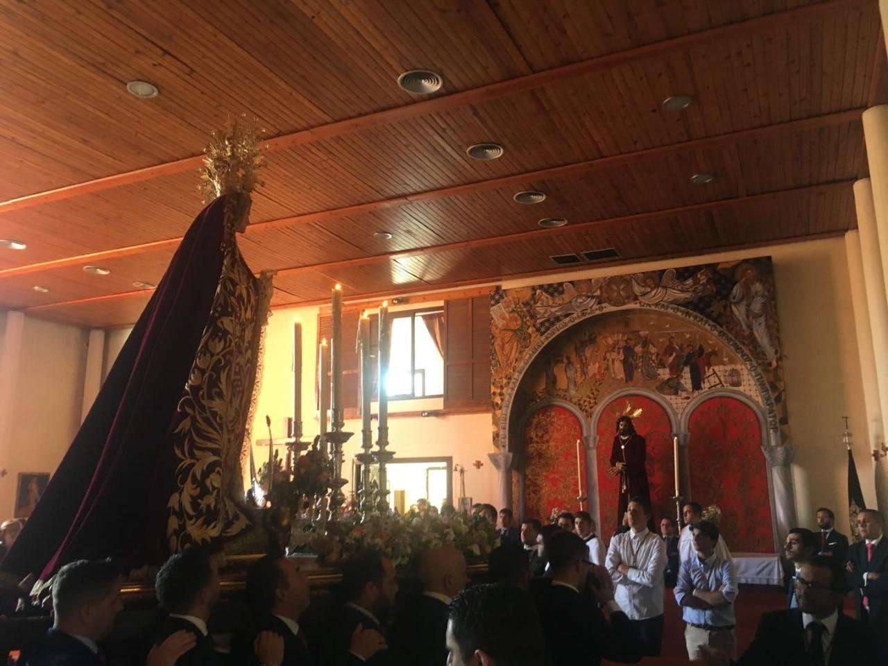 Este domingo, Rosario de la Aurora de la Virgen de las Mercedes