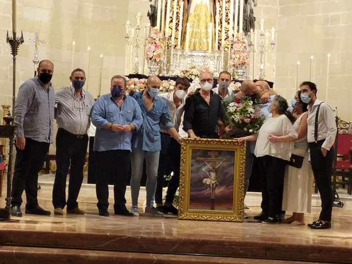 TV: ''Semblanza al pintor Juan Grande en la Iglesia de Santiago''