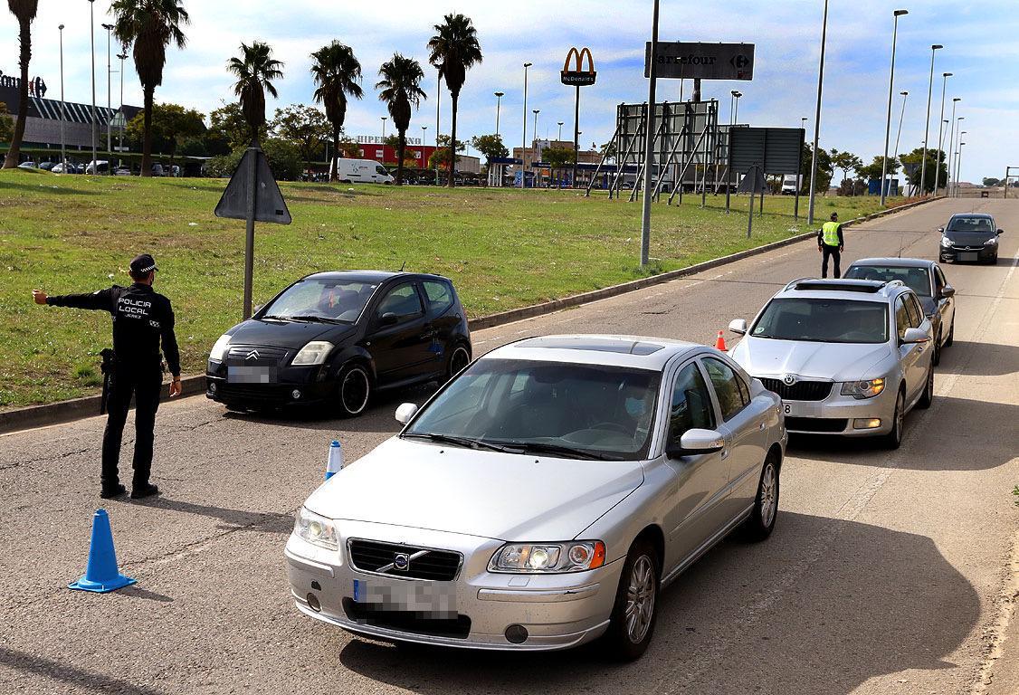 De los casi 4.200 coches que han pasado por controles de velocidad en Jerez en un mes sólo el 1,8% han sido denunciados
