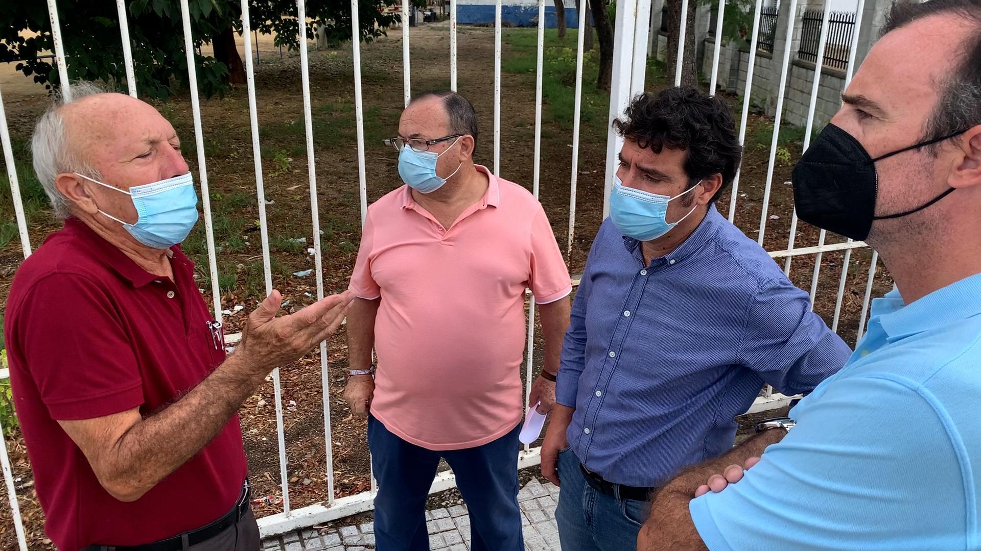 """García (Cs): """"Vamos trasladar al Pleno los problemas de okupación e infraestructuras existentes en La Granja"""""""